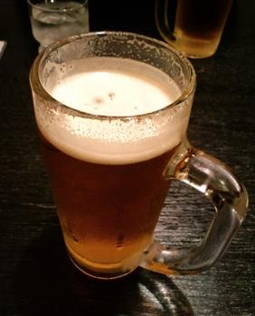 お疲れ様ビール