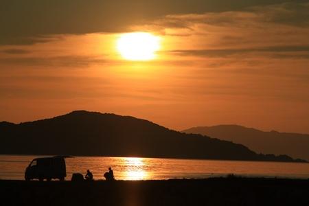 大島からの夕日.JPG