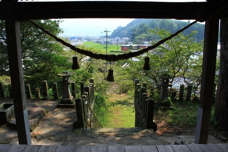 拝殿からの景色.JPG
