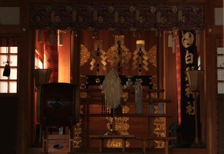 白髭神社・拝殿より.JPG