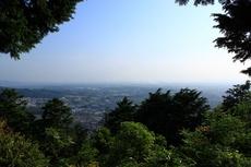 高良山より(久留米・広川).JPG