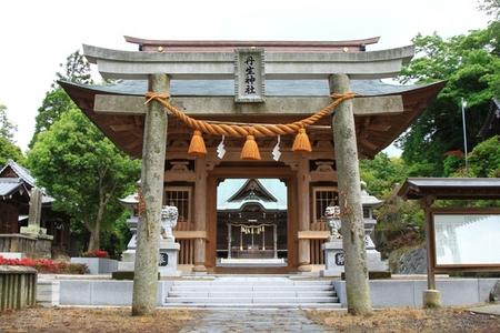鳥居と神門.JPG
